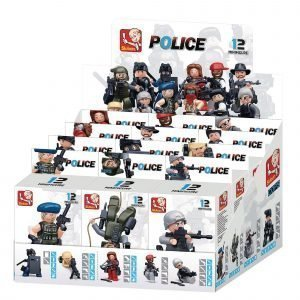Sluban Rakennuspalikat Police Sarja Minihahmot