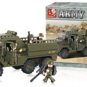 Sluban Rekka Sluban Army Sarjan Rakennuspalikat