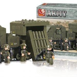 Sluban Rocket Launcher Sluban Army Sarjan Rakennuspalikat