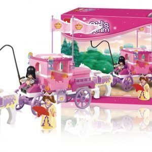 Sluban Royal Carriage Sluban Girls Dream Sarjan Rakennuspalikat