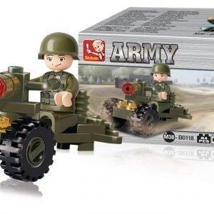 Sluban Soldier Sluban Army Sarjan Rakennuspalikat