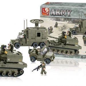 Sluban Sotilaseliittidivisioona Sluban Army Sarjan Rakennuspalikat