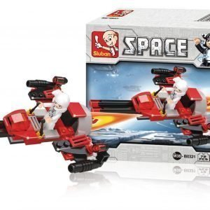 Sluban Space Bomber Sluban Space Sarjan Rakennuspalikat