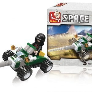 Sluban Space Quad Sluban Space Sarjan Rakennuspalikat