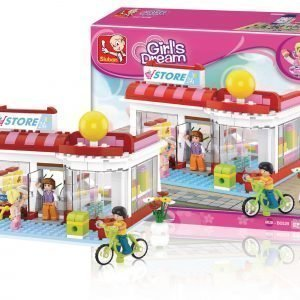 Sluban Supermarket Sluban Girls Dream Sarjan Rakennuspalikat