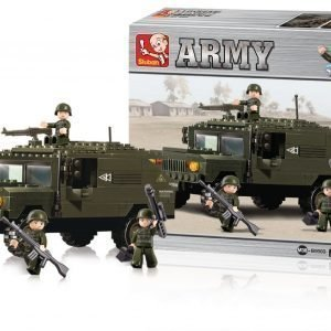 Sluban Suv Sluban Army Sarjan Rakennuspalikat