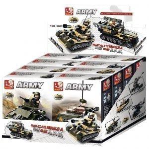 Sluban Tank Or Apc 8 Into 1 Sluban Army Sarjan Rakennuspalikat