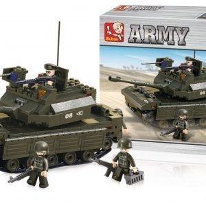 Sluban Tank Sluban Army Sarjan Rakennuspalikat 107806