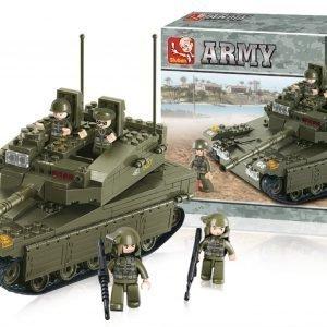 Sluban Tank Sluban Army Sarjan Rakennuspalikat 107808