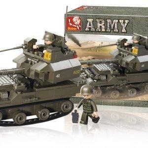 Sluban Tank Sluban Army Sarjan Rakennuspalikat 107809