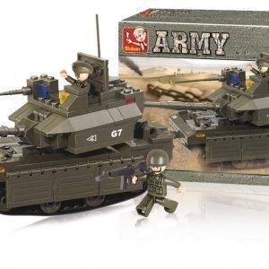 Sluban Tank Sluban Army Sarjan Rakennuspalikat 107811