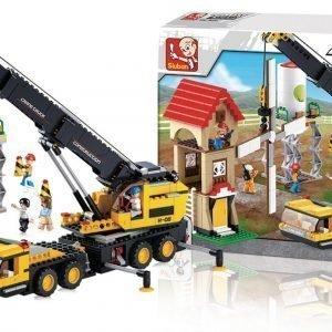 Sluban Telescopic Crane Sluban Town Sarjan Rakennuspalikat