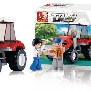 Sluban Traktori Sluban Town Sarjan Rakennuspalikat