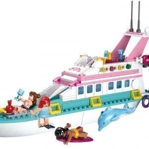 Sluban Vacation Yacht Sluban Girls Dream Sarjan Rakennuspalikat