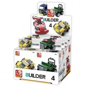 Sluban Vehicles Sluban Builder Sarjan Rakennuspalikat