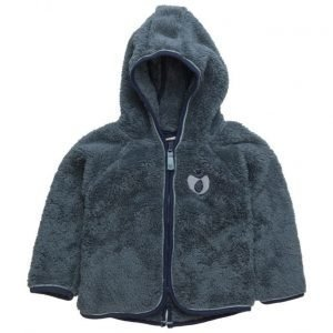 Småfolk Baby Fleece With Hood & Zipper