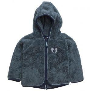 Småfolk Baby Fleece With Hood & Zipper