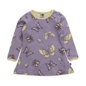 Småfolk Dress Ls. Butterflies