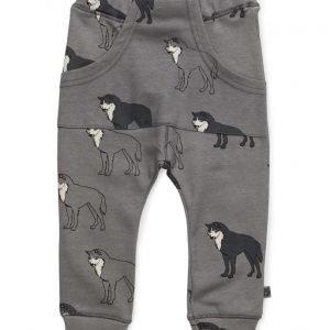 Småfolk Jersey Pants. Wolf