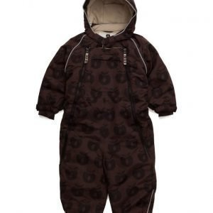 Småfolk Snowsuit 2 Zipper. Apples