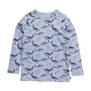 Småfolk Swim T-Shirt. Sharks