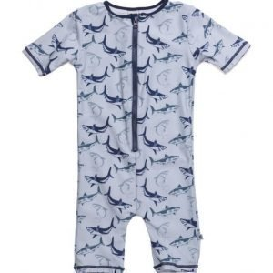 Småfolk Swimsuit. Sharks. Short Legs/Sl
