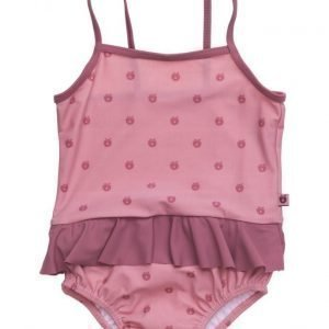 Småfolk Swimwear Baby Suit. Apples