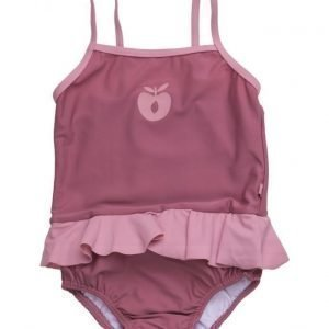 Småfolk Swimwear Suit Baby. Solid Color