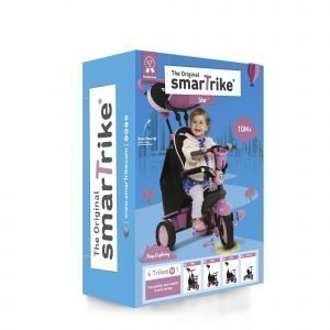 Smartrike Star 4 In 1 Kolmipyörä Pinkki