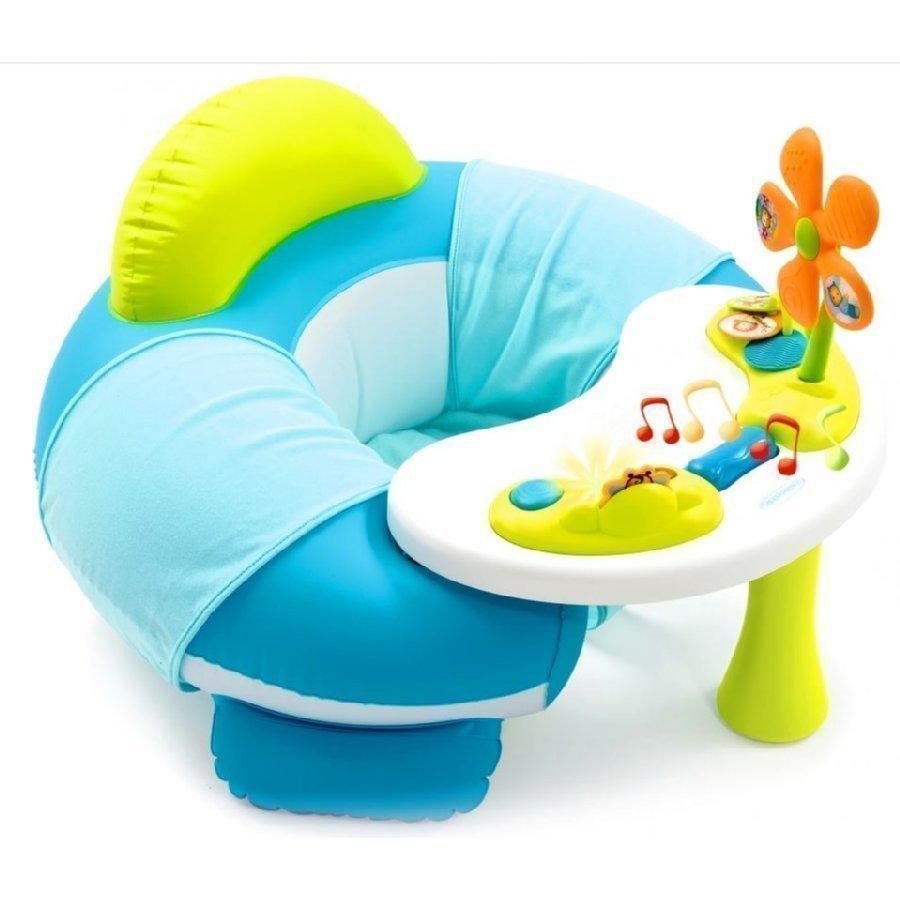 Smoby Cotoons Youpi Baby Leikkipöytä Istuimella Sininen
