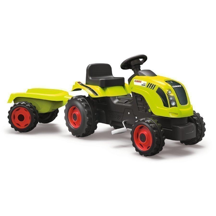 Smoby Farmer Xl Claas Arion 400 Traktori Peräkärryllä