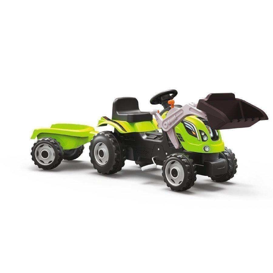 Smoby Farmer Xl Traktori Etukuormaajalla Vihreä