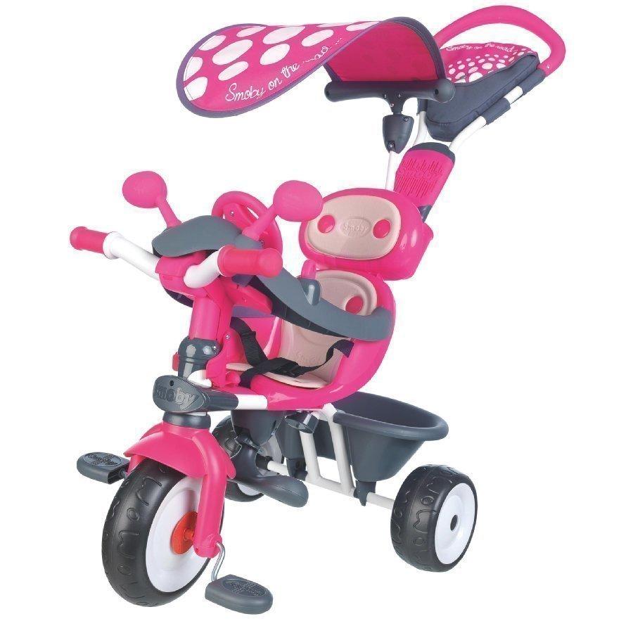 Smoby Kolmipyörä Baby Driver Komfort Pinkki
