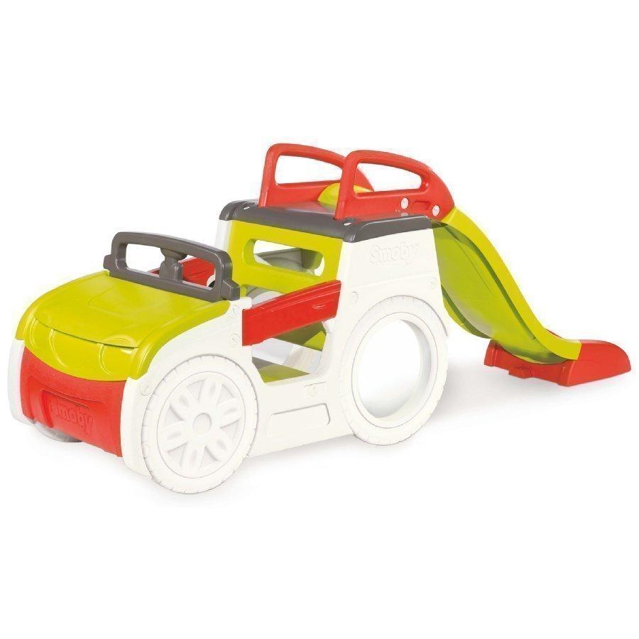 Smoby Leikkiauto Liukumäellä
