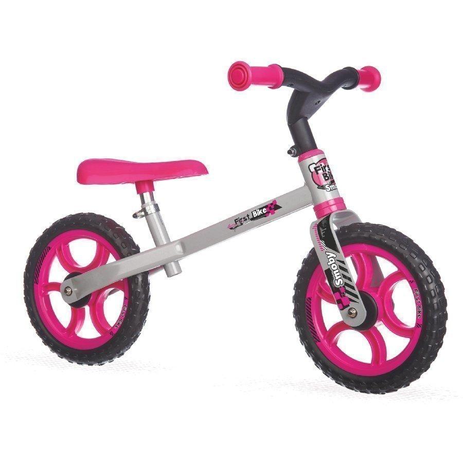 Smoby Potkupyörä First Bike Pink