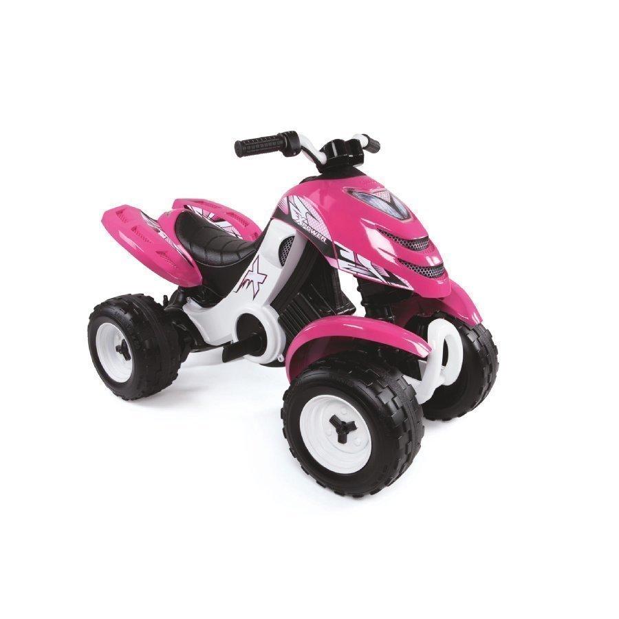 Smoby X Power Quad Sähkömönkijä Pinkki