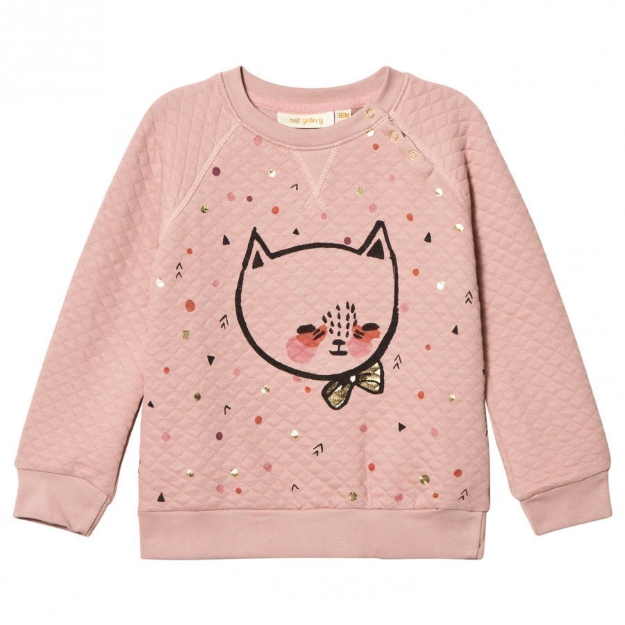 Soft Gallery Alexi Sweatshirt Misty Rose Oloasun Paita