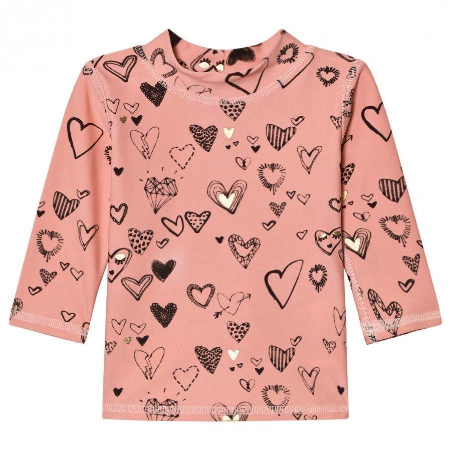Soft Gallery Astin Swim Shirt Coral Almond Aurinkopuku