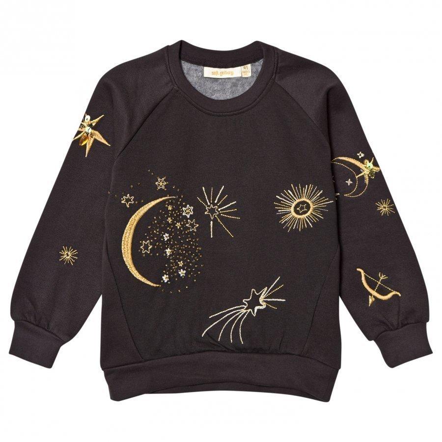 Soft Gallery Babs Sweatshirt Peat Galaxy Emb. Oloasun Paita
