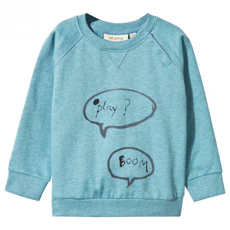 Soft Gallery Baby Alexi Sweatshirt Cameo Blue Oloasun Paita