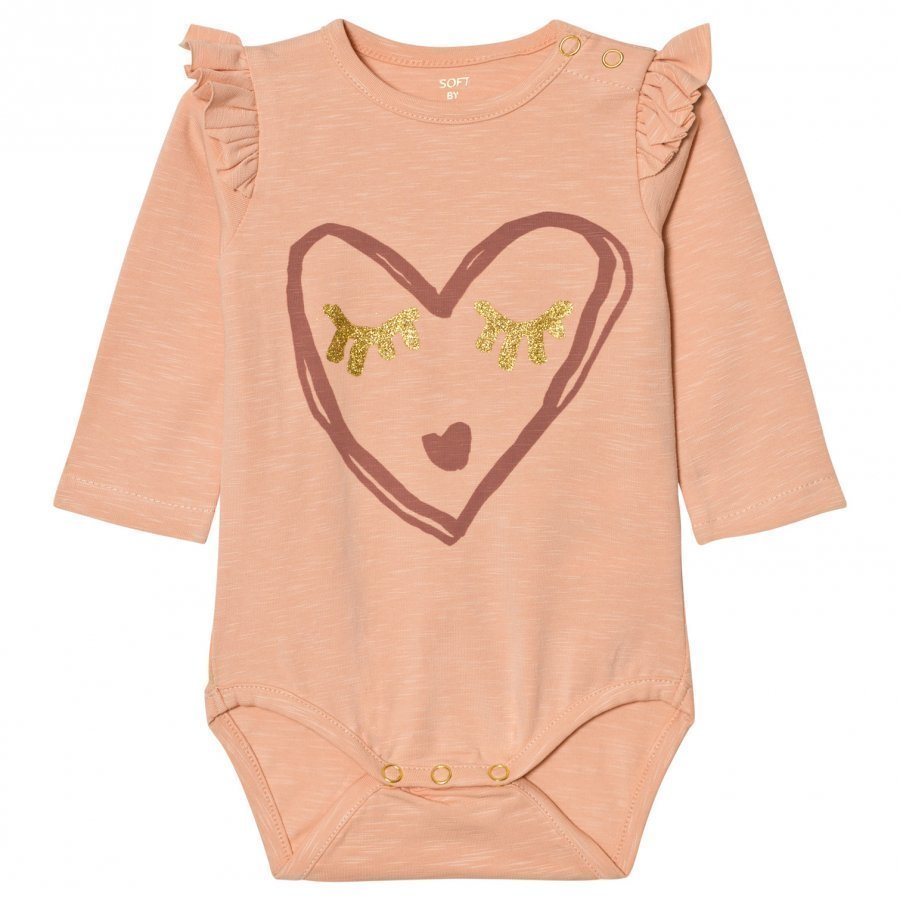 Soft Gallery Baby Body Fifi Dusty Pink Body