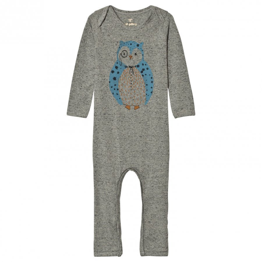 Soft Gallery Baby One-Piece Ben Neppy Grey Melange Body