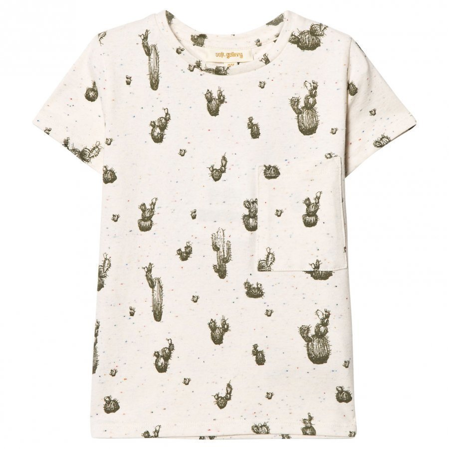 Soft Gallery Bass T-Shirt Desert Neppy T-Paita