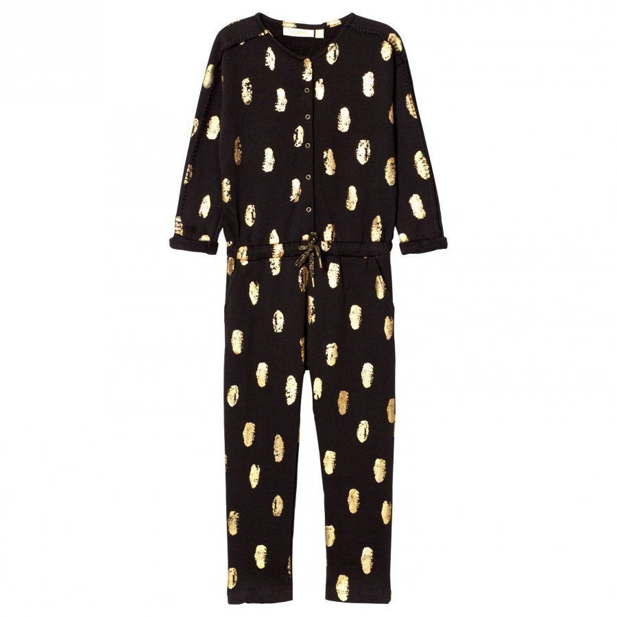 Soft Gallery Cass Jumpsuit Jet Black Potkupuku