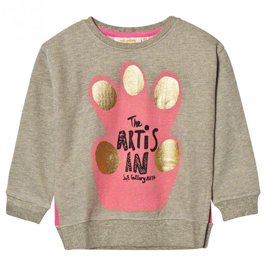 Soft Gallery Cira Sweatshirt Ash Lurex Oloasun Paita