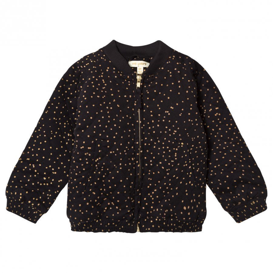 Soft Gallery Dagny Jacket Jet Black Dotties Neuletakki