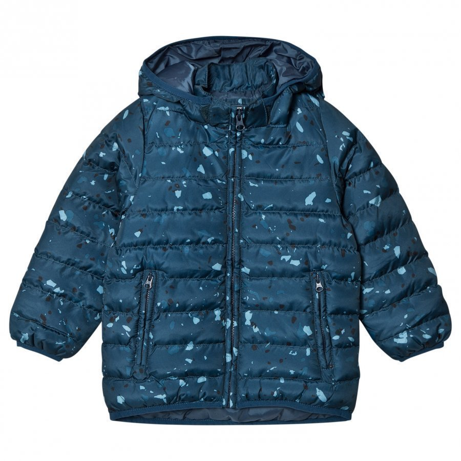 Soft Gallery Finley Jacket Reflecting Pond Terazzo Mega Toppatakki