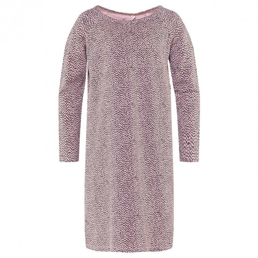 Soft Gallery Gabrielle Nightwear Silver Pink Aop Pebbles Yöpaita
