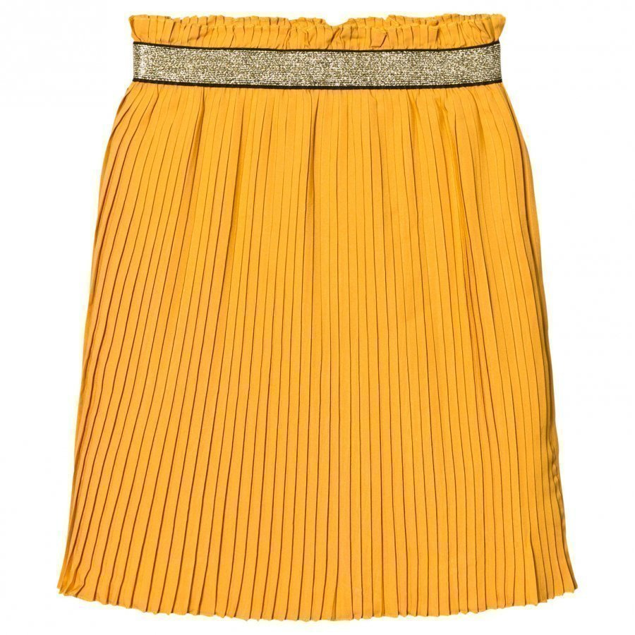 Soft Gallery Mandy Skirt Golden Yellow Midihame