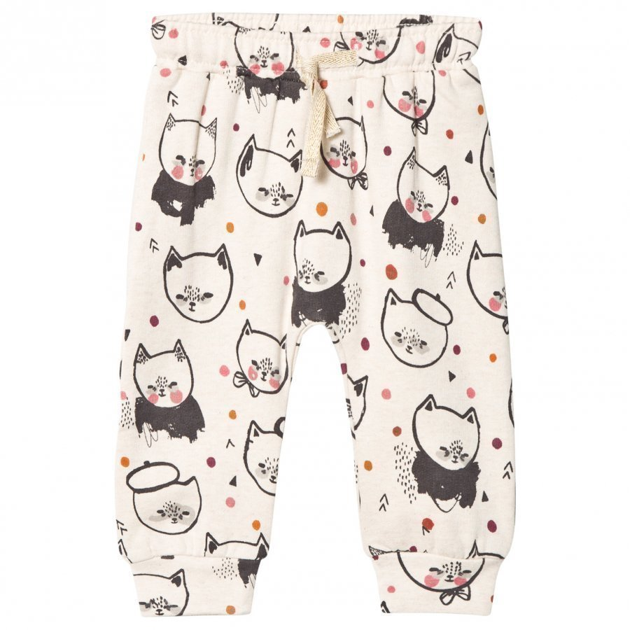 Soft Gallery Meo Pants Cream Melange Kittens Verryttelyhousut